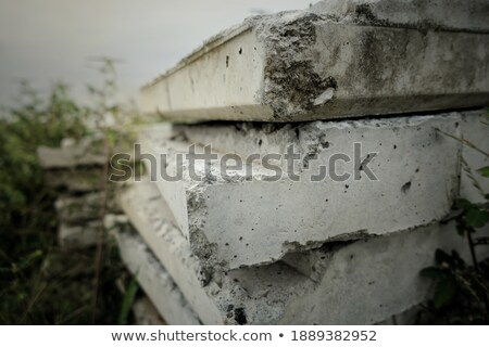 pile of bricks lay on each other stock photo © vetdoctor