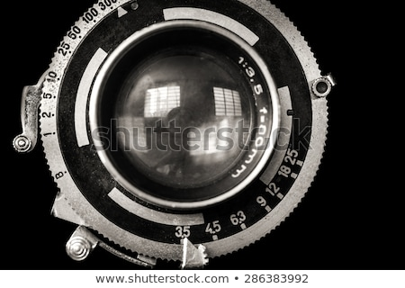Antique camera lens Stock photo © sumners