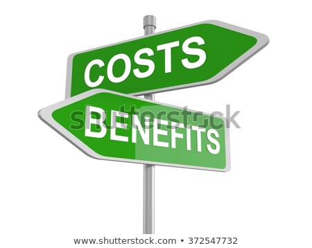 costs benefits dilemma stock photo © lightsource