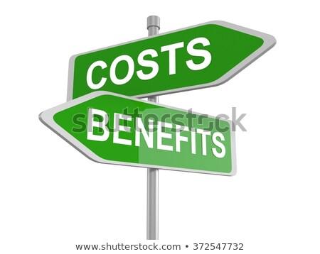 Costs Benefits Dilemma Stock photo © Lightsource