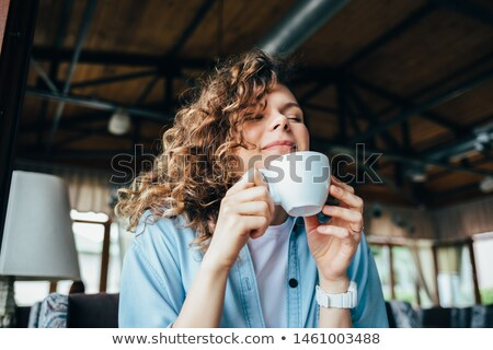 Woman relaxing and closing her eyes Stock photo © wavebreak_media