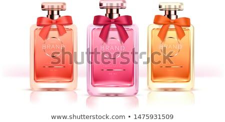 Blauw · parfum · fles · geïsoleerd · witte · licht - stockfoto © justinb