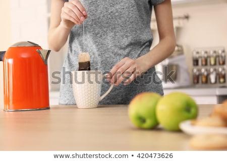 making tea stock photo © jayfish
