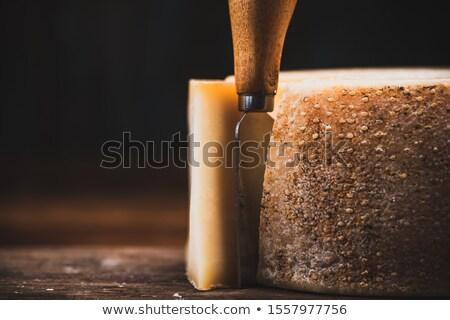 Olgun peynir tekerlekler durmak uluslararası festival Stok fotoğraf © rglinsky77