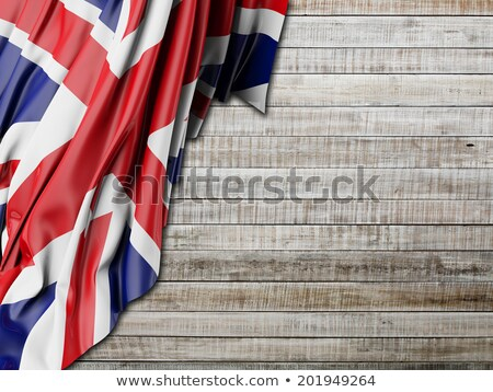 vlag · Engeland · grunge · effect · papier · abstract - stockfoto © pinkblue
