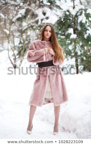 Schoonheid glamour mode model meisje portret Stockfoto © Victoria_Andreas