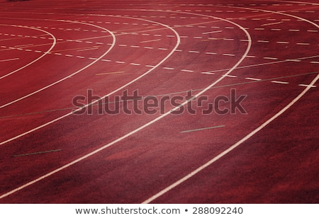Running lane and hurdle Stock photo © jeancliclac