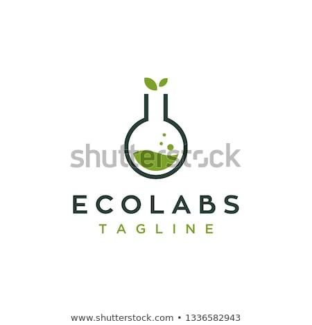 Stockfoto: Groene · buis · logo · logo-ontwerp · ontwerp · reizen
