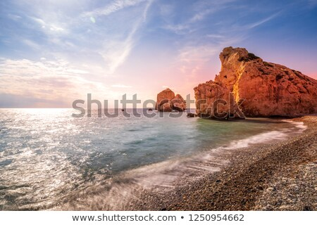Mediterranean sea, longtime exposure Stock photo © haraldmuc