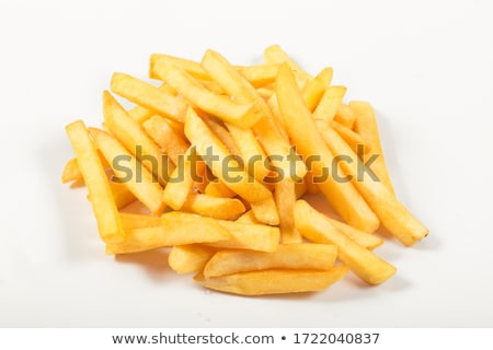 Fried slices of potatoe Stock photo © jarin13