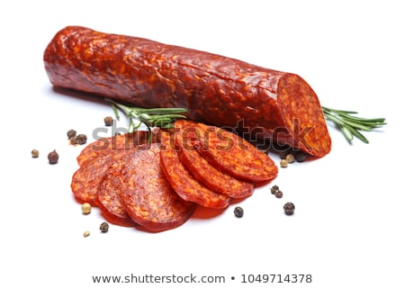 salami and chorizo Stock photo © M-studio