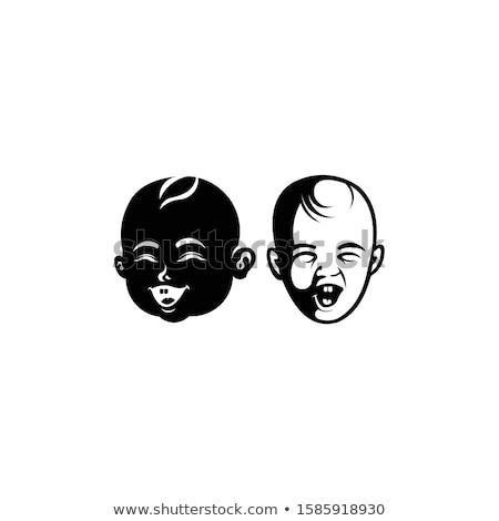 молодые · мальчики · лице · белый · глазах · фон - Сток-фото © anna_leni