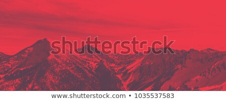 Bleak wintry mountain landscape Stock photo © photosebia
