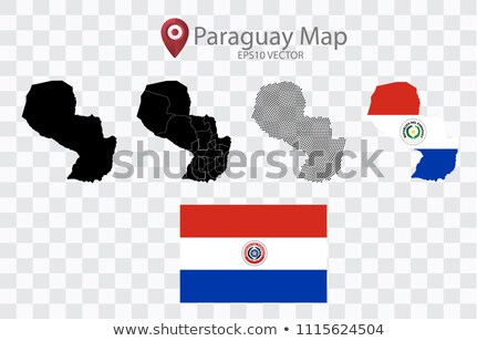 Map of Republic  Paraguay with Dot Pattern Stock photo © Istanbul2009