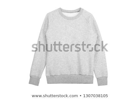gray sweater isolated stock photo © ozaiachin