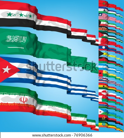 Arabie Saoudite drapeaux puzzle isolé blanche affaires Photo stock © Istanbul2009