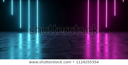 Abstract Purple light ray wall background. Stock photo © klss