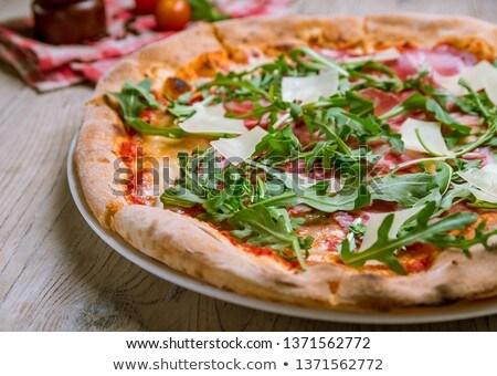 apetitoso · queijo · cozinha · italiana · manjericão - foto stock © digifoodstock