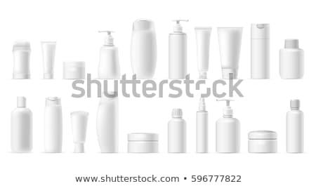 белый · трубка · продукт · вверх · серый - Сток-фото © cherezoff