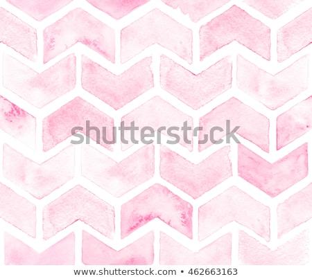 Patroon zigzag klassiek naadloos roze papier Stockfoto © fresh_5265954