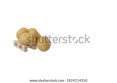 four new potatoes stock photo © digifoodstock