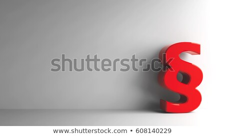 red paragraph stock photo © oakozhan