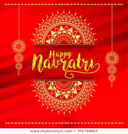 abstract artistic navratri background stock photo © pathakdesigner