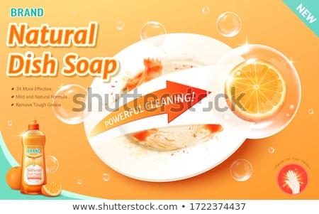Dishwashing Liquid Stock photo © devon