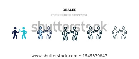 presentation icon in different style stock photo © sidmay