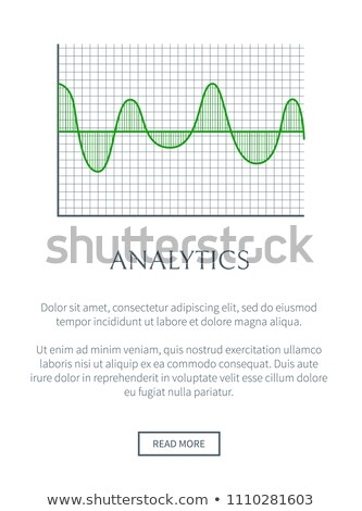 Analitika kép szín integet diagram zöld Stock fotó © robuart