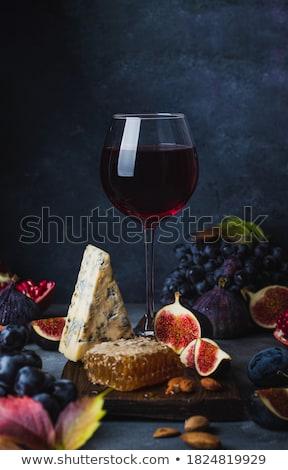 ブドウ はちみつ 新鮮な プレート 食品 自然 ストックフォト © YuliyaGontar