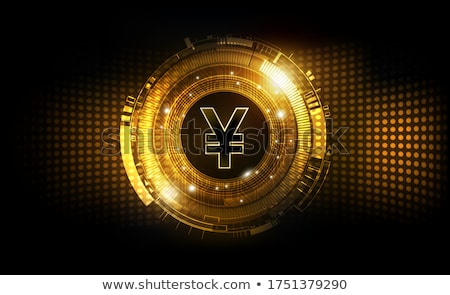 Digital currency concept vector illustration. Stock photo © RAStudio