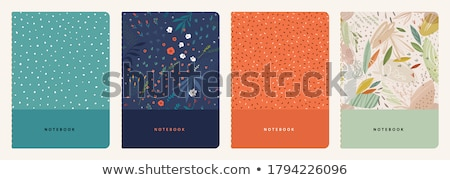 vector set of notebooks Stock photo © olllikeballoon