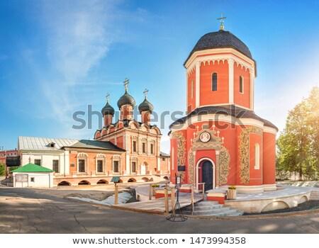 Kilise üzerinde manastır çan kule şehir Stok fotoğraf © borisb17