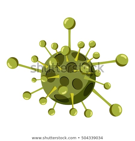 Danger Bacillus Bacteria isometric icon vector illustration Stock photo © pikepicture