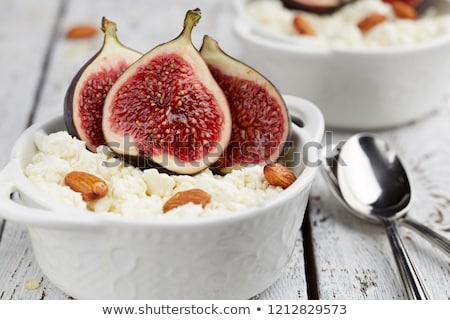 Ripe sweet figs Stock photo © karandaev
