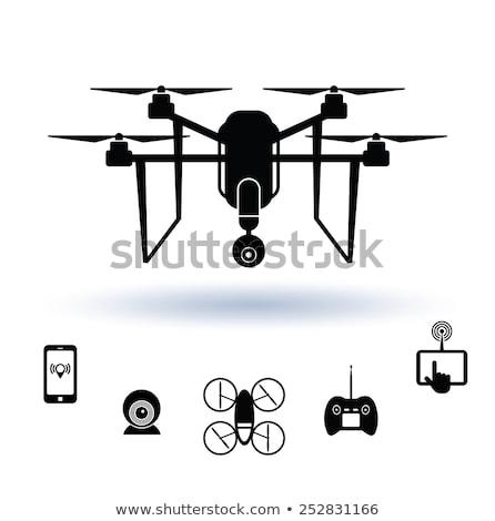 Aerial photography concept vector illustration Stock photo © RAStudio