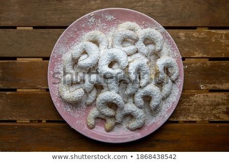 Sápadt kekszek étel háttér méz édes Stock fotó © photography33