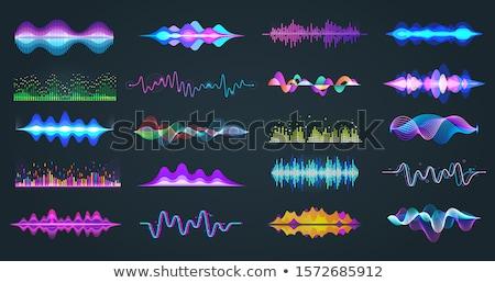 Audio digital recorder set. Vector illustration Stock photo © leonido