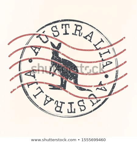 Stock photo: Australian post stamp