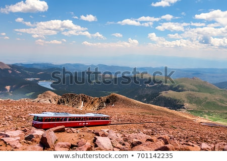 Pikes Peak view from the top Stock photo © macropixel