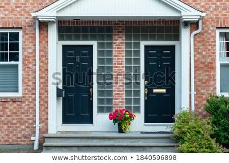 ház · virág · doboz · ablak · zsalu · virágok - stock fotó © iriana88w