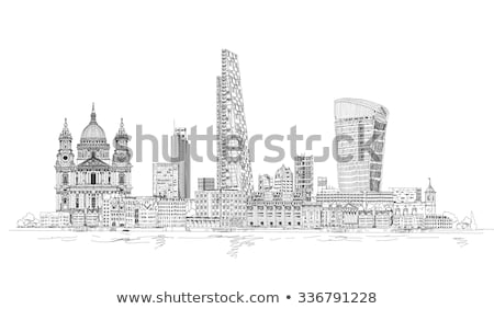 reflection of the Lloyd's Building, London Stock photo © Snapshot