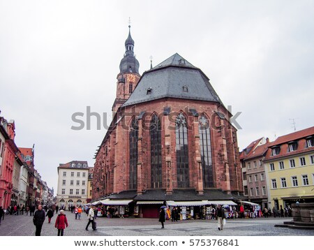 Church Holy Spirit in Heidelberg Germany Stock photo © backyardproductions