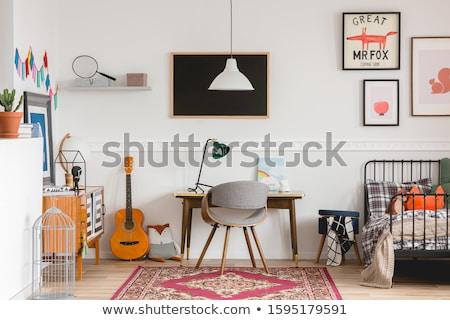 Duvet on the desk Stock photo © zzve