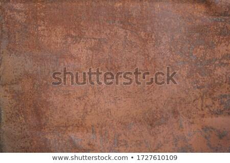 iron rusty Stock photo © H2O