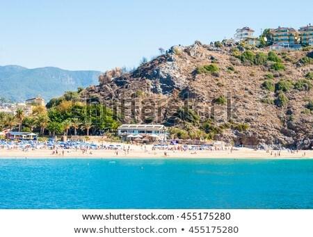 Turquía paisaje fortaleza vista cielo agua Foto stock © Mikko