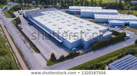 Road and industrial area Stock photo © cherezoff