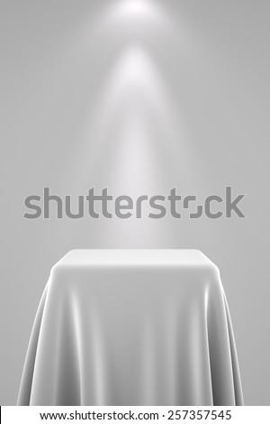 bianco · muro · spot · luce · muro · di · mattoni - foto d'archivio © creisinger
