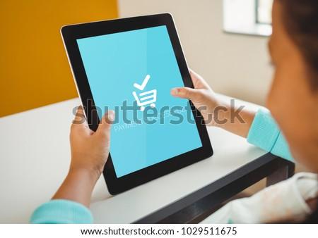 изображение оплата успешный смартфон Сток-фото © wavebreak_media